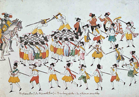 German Cutters Guild Dance 1600
