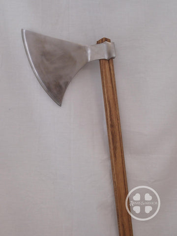Type L Danish War Axe profile view of head.