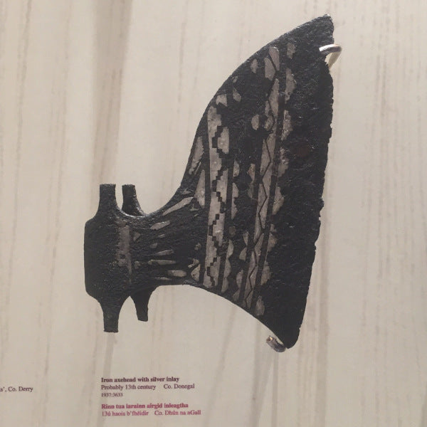 Original Axe in the National Archeology Museum of Ireland