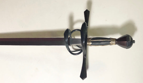 Sword in the style of pieces carried by the Guard of the Elector of Saxony custom made by Arms & Armor Inc.