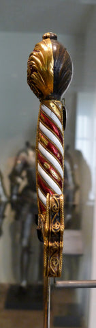 Sword of Francis I side