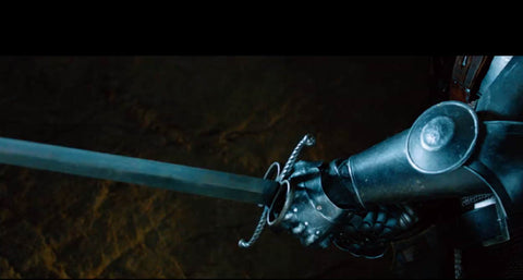 German Bastard sword as seen in the Seventh Son movie.