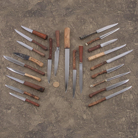 Reproduction Medieval Knives made by Arms & Armor Inc.