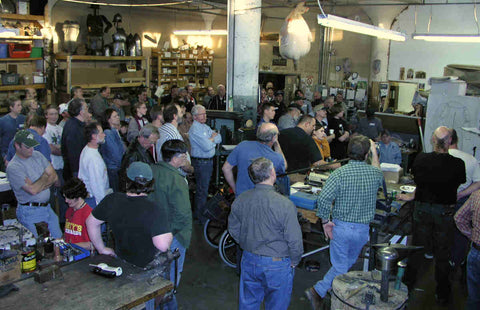 Guild of Metalsmiths visit to A&A 2005