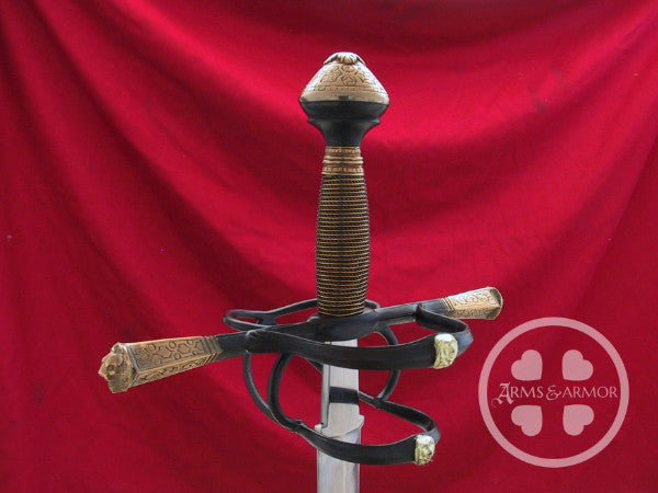 Gustav VAsa sword REpics made for the Royal Armouries Sweden