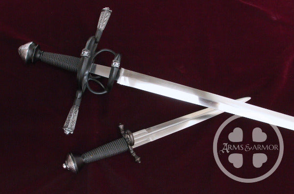 Gustav Vasa rapier and dagger suite