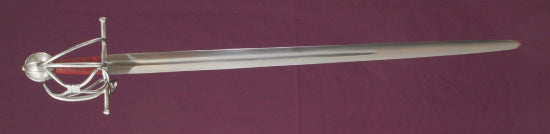 Full length image of Mary Rose Basket hilt reconstruction.