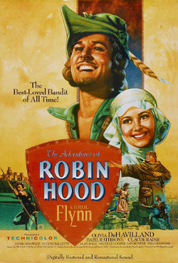 The Adventures of Robin Hood film poster