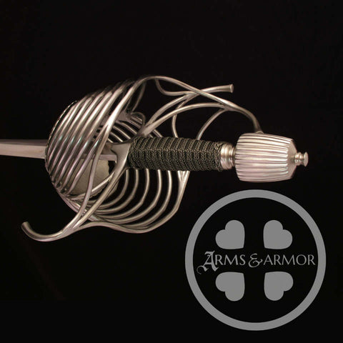 Seven Ring rapier custom made by Arms & Armor