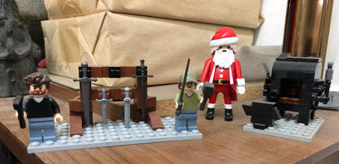 Santa visits A&A in lego form.