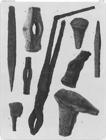 medieval smiths tools