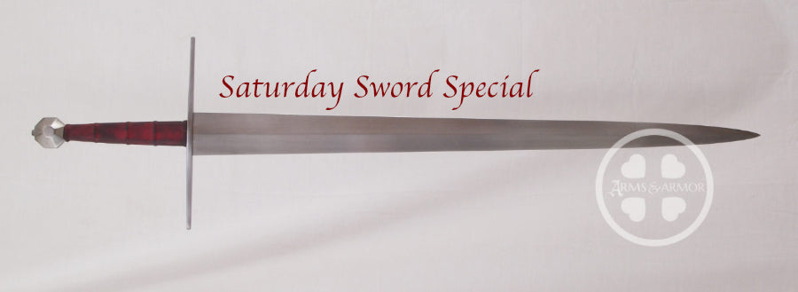 Type XVIIIc Saturday Sword Special with Red Grip