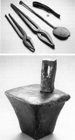 Celtic smithing tools.