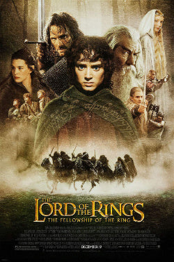 Fellowship of the ring movie poster