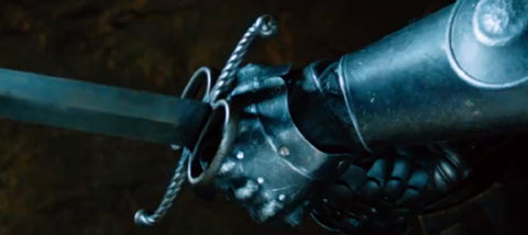 German bastard sword used in Seventh Son.