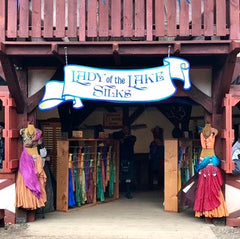 Lady of the Lakes booth at the MN Ren Faire