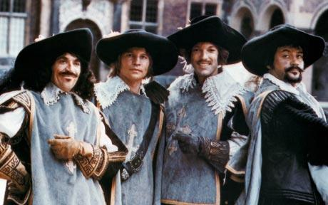 the 4 musketeers 1973 movie.