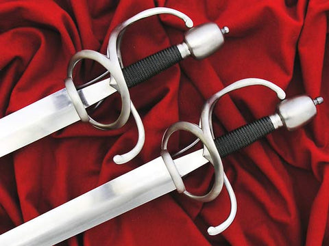 Pair of #192 Town Guard Swords for Interpretive work at Frazier Museum, Kentucky, US.