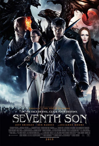 Movie poster for the Seventh Son movie.
