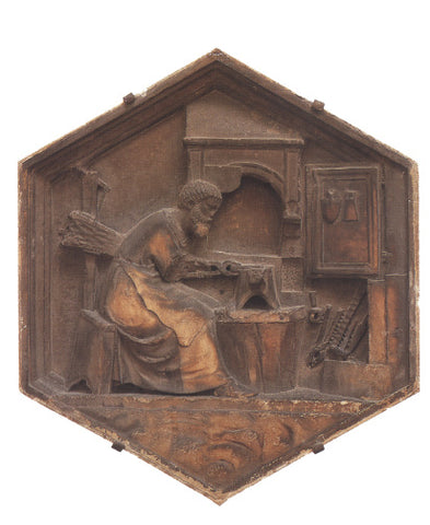Smith at work sculptural tile