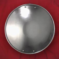 This item temporarily unavailable- Round 11-inch Steel Buckler