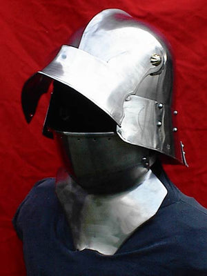 Custom Sallet and Bevor