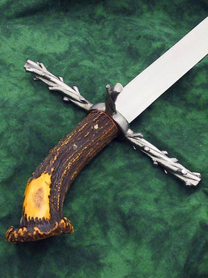 Custom Gothic Bough Hunting Sword