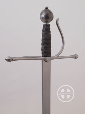 Meyer training rapier #239 steel hilt with knuckle bow.