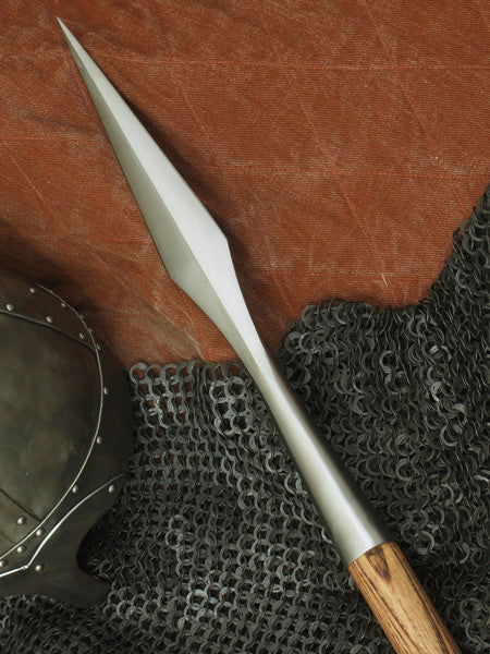 Norseman Spear #242 Viking spear mounted on ash haft.