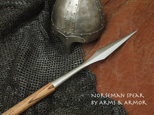 Norseman Spear #242 Viking era weapon.
