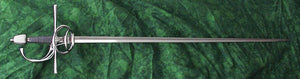 Italian Three Ring Rapier #168 16th century full length.