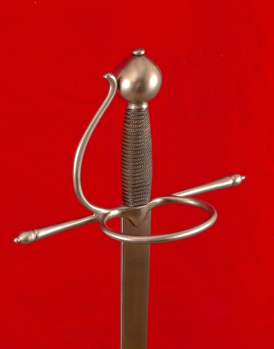 Meyer training rapier #239 16th Century training rapier German.