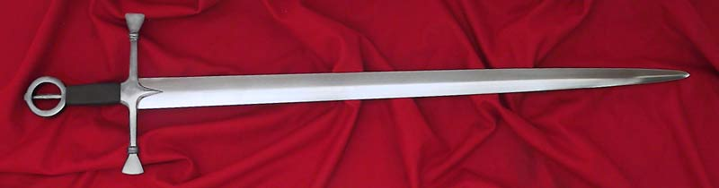 Irish Sword #085 ring hilt.