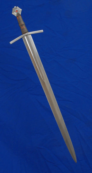 Malaspina Sword #244 15th Century Oakeshott Type XIII fullered blade.