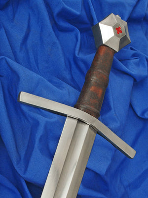 Malaspina Sword #244 based on the tomb of the Marquis of Fosdinovo Galeotto Malaspina 15th Century.