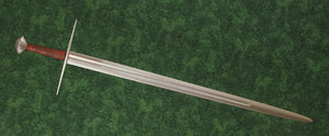 #245 Hungarian Sword Type XI blade overall view.