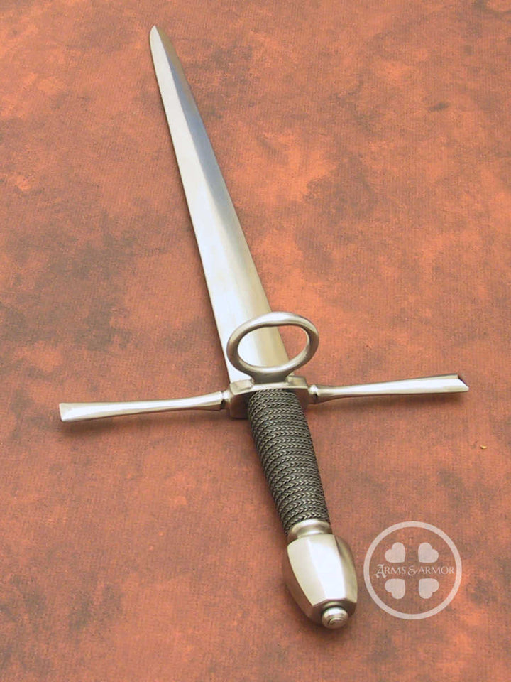 Training parrying dagger #253 available with rebatted or flexy blade.