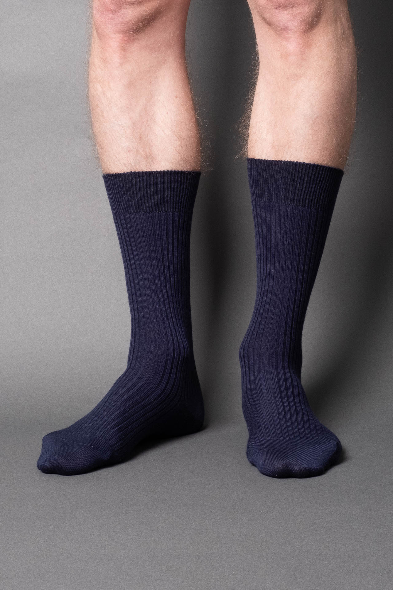 once a day-wool-dress-socks-colors-made-in-japan-premium-blue