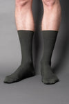 once a day-wool-dress-socks-colors-made-in-japan-premium-green