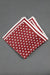 red-and-white-dots-silk-knitted-pocket-square-with-white frame-made-in-italy