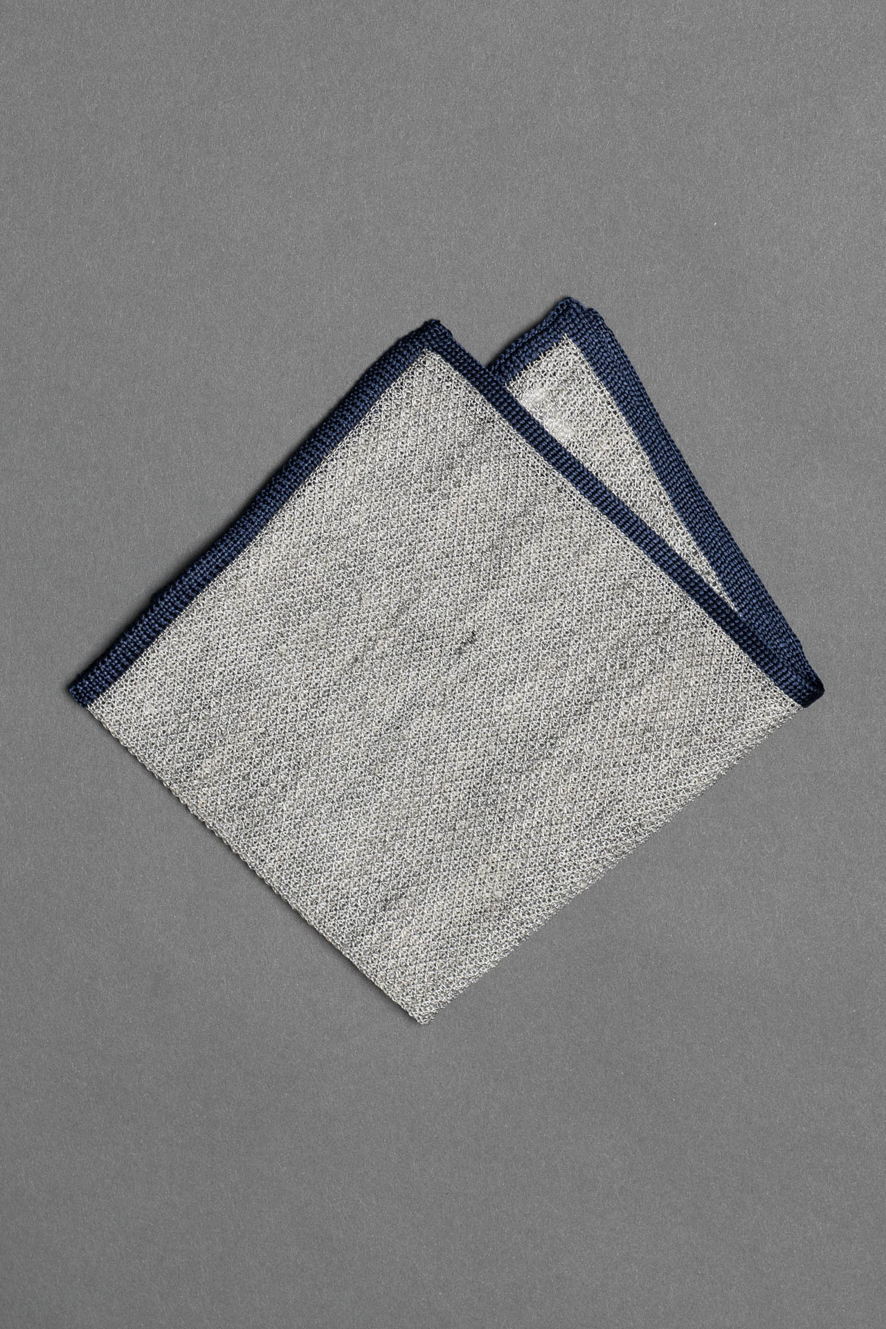 7. Cotton Linen - Pocket Square