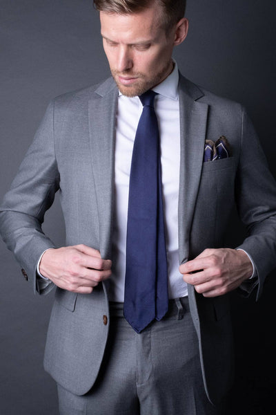 5. Woven Twill - Pocket Square