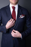 2. Silk Knitted Pocket Square