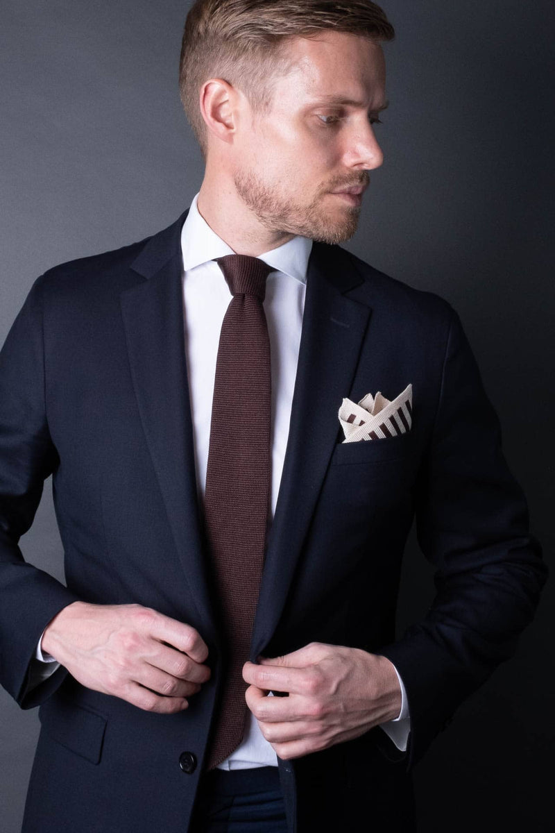 6. Stripes - Pocket Square