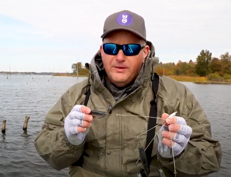 Bio-Minnnow Baits on the A-Rig
