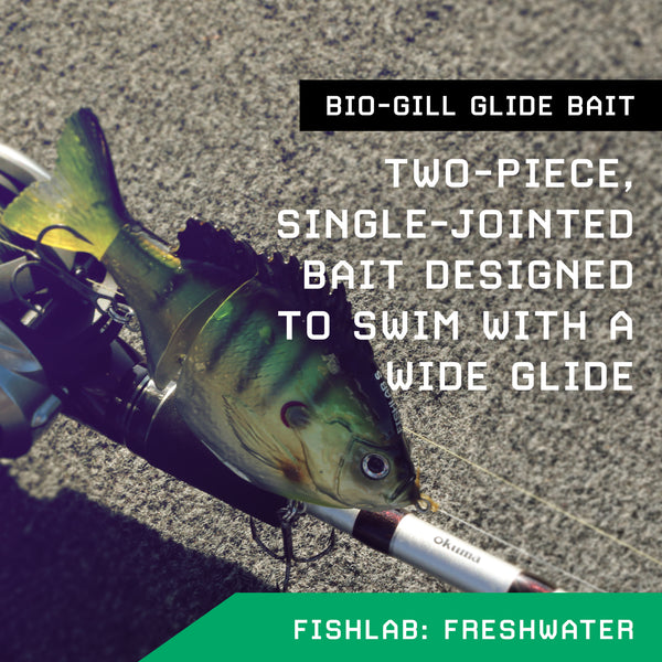 Have You Checked Out the Swimming Action on the Bio-Gill Swimbaits Yet?