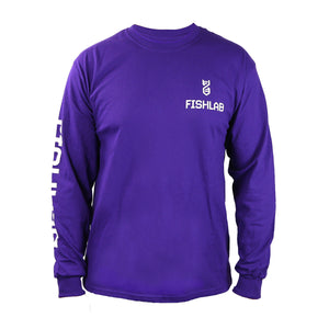 FishLab Long Sleeve Purple T-Shirt