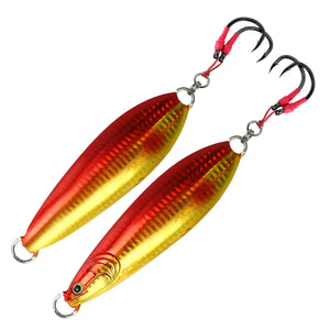 FishLab Carnada Slow Pitch Jig Red/Gold