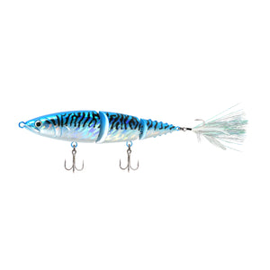 FishLab Hard Mack Attack Swimbait Blue Mackerel