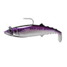 FishLab Soft Mack Attack Swimbait Purple Mackerel